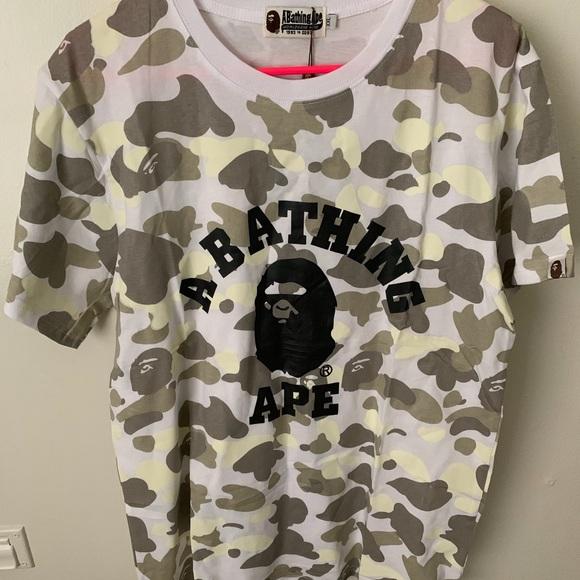 040741239 Bape Shirts | Gently Used Shirt Mens Xl | Poshmark
